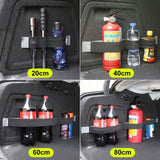 1Pc Universal Car Rear Trunk Organizer Elastic Strap Fixed Stowing Tidying Auto Interior Accessories
