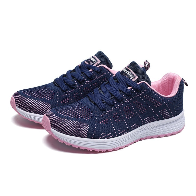 Spring Autumn Women Sneakers Sports Running Shoes Comfortable  Mesh Lovers Sneakers Light Breathable Casual Shoes