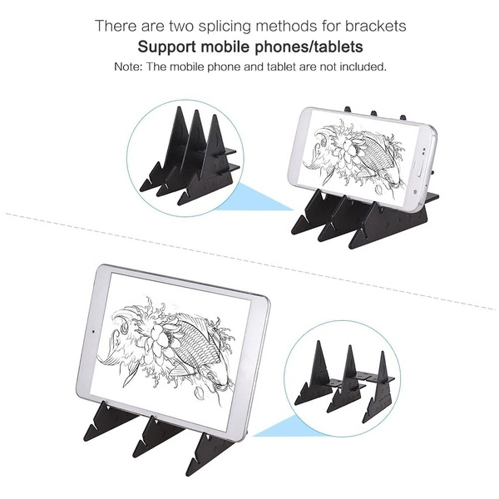 Easy to Paint Sketch Assistant Painting Stand Optical Painting Board Portable Stereoscopic Copy Station Child Drawing Tools