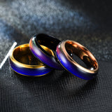 Creative Color Changeable Ring Temperature Emotion Feeling Mood Rings For Men Women Couples Lovers' Party Gift