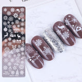 1pcs nail nail stamping template floral geometric animal DIY nail design manicure image board mould