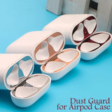 New Ultra Thin Gold Plating Shell Dust Guard Metal Film Sticker Iron Shavings Protective Cover