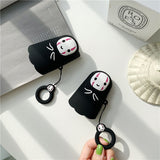 Anime Spirited Away No Face Man Protective Shockproof AirPods Case AirPods Charging Box Cover