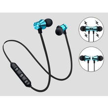 Load image into Gallery viewer, 1pcs 4.2 Wireless Magnetic Sport Headset Bluetooth Stereo Earphone With Microphone