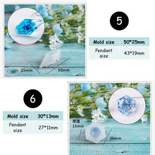 Load image into Gallery viewer, Healing Point Pendant  Resin Mold Silicone Mold Epoxy Mold DIY Jewelry Making
