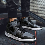 Men / Women High-top Sneakers Basketball Shoes Outdoor Sports Sneakers High Top Basketball Size 36-45