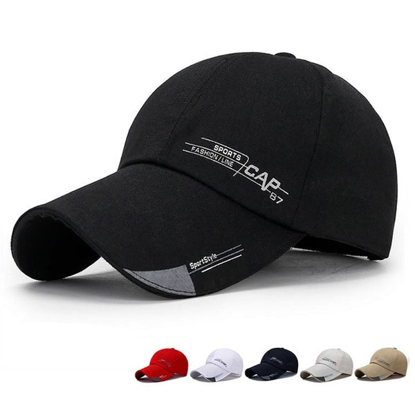 Fashion Baseball Caps Sports Outdoor Cotton Sunshade Cap for Men and Women