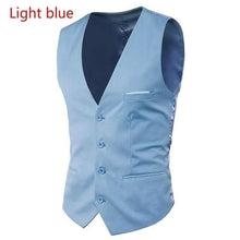 Load image into Gallery viewer, Men's fashion new suit Slim fit inside vest suit vest 6 colors