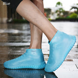 Rain Waterproof Shoe Cover Non-slip Wear-resistant Bottom Convenient Rainproof Thicken Folding Rain Boots
