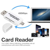 2019 New Multifunctional OTG Card Reader Micro SD / SD Card / USB Reader