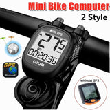 Bike Global Position System Computer Wireless LCD Display Speedometer Cycling Computer Odometer Waterproof (With/Without GPS)