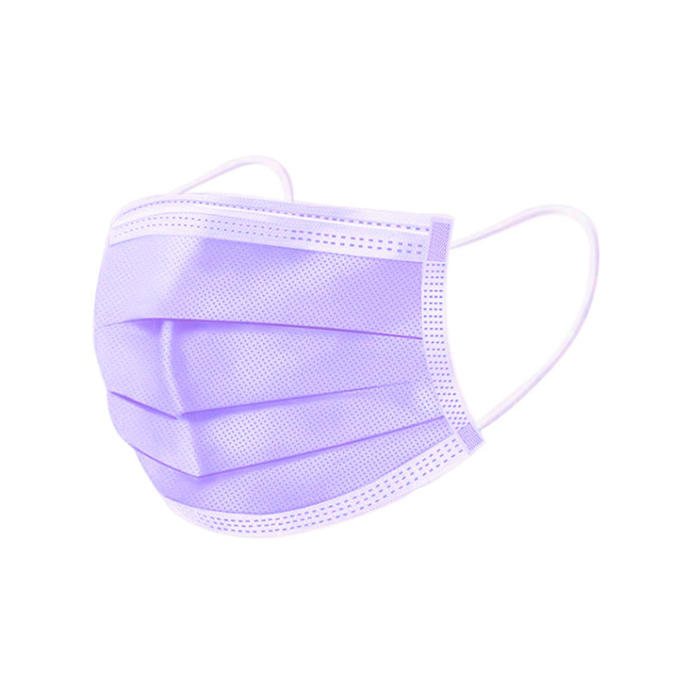 200/150/100/50/10PCS 9Colors 3-Ply Disposable Protective Masks Non-Woven Face Mask Anti-Dust Filter Dustproof Earloop Mouth Masks
