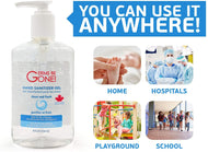 Germs Be Gone Hand Sanitizer 236ml Bottle 24 Pack Full Case