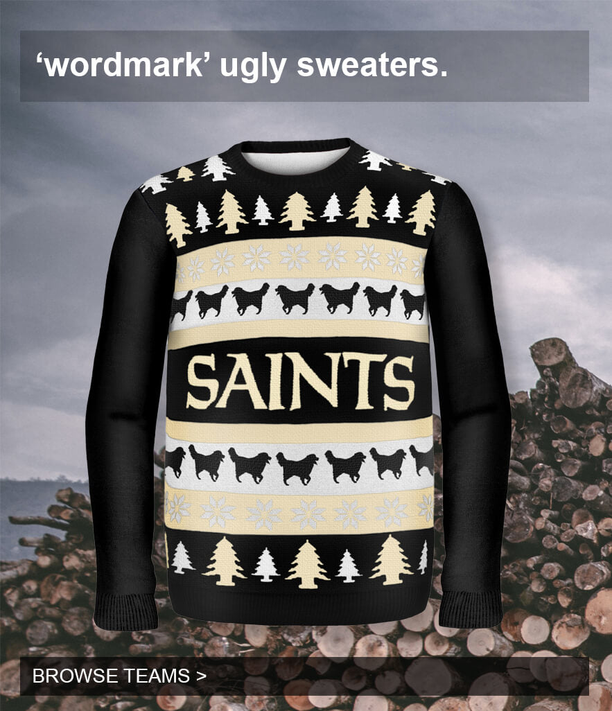 Wordmark Ugly Sweaters