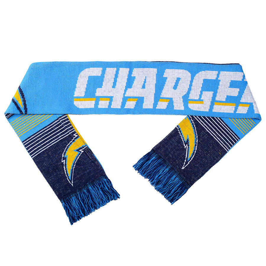 San Diego Chargers Wordmark Ugly Sweater