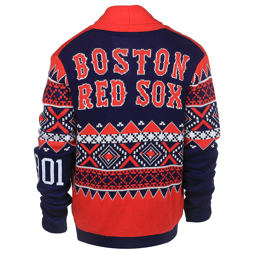 Boston Red Sox 2015 Ugly Cardigan Uglyteams