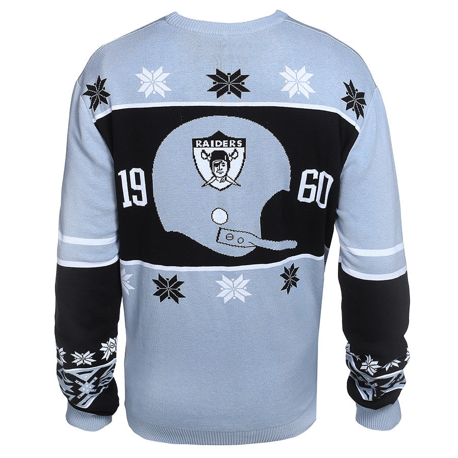 Oakland Raiders Cotton Retro Sweater - UglyTeams