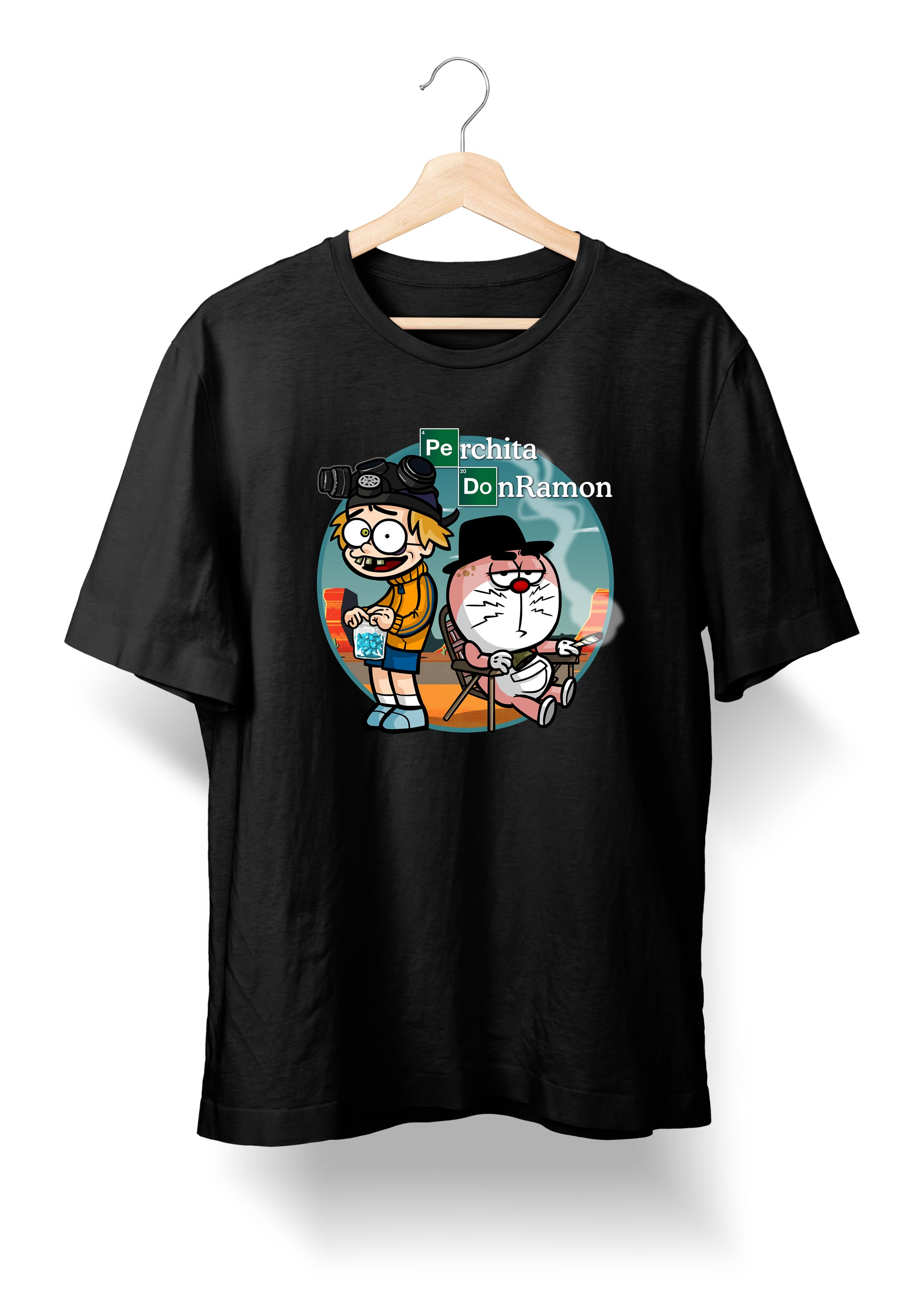 Camiseta de Breaking Bad - DonRamon y Perchita - Tienda Oficial