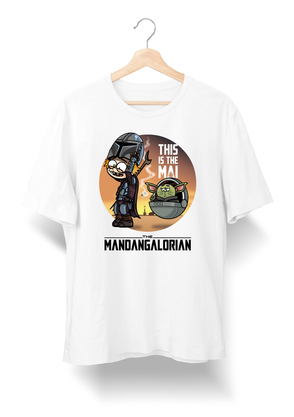 Camiseta The Mandangalorian - DonRamon y Perchita - Tienda Oficial