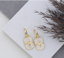 Load image into Gallery viewer, Etta Earrings - White