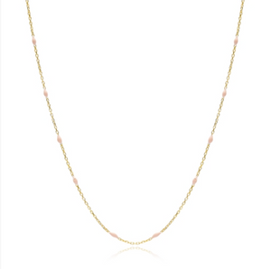 Mini Lee Necklace - Pink