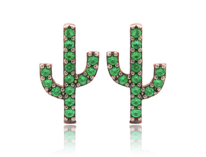 Load image into Gallery viewer, Earrings Cactus