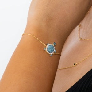 Load image into Gallery viewer, Bracelet Turtle