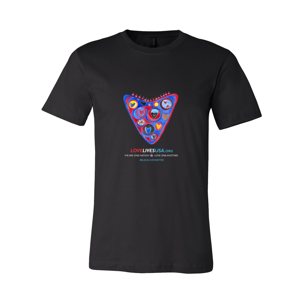 Love Lives USA Short Sleeve Tee