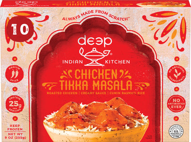 Chicken Tikka Masala with Cumin Rice (10 count)