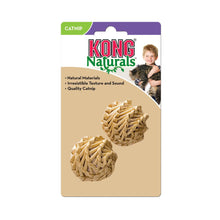 Load image into Gallery viewer, KONG Naturals Straw Balls 2-Pack Cat Toy