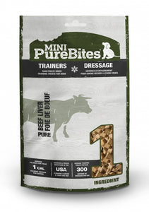 PureBites Mini PureBites Trainers RAW Freeze Dried Beef Liver Dog Treats