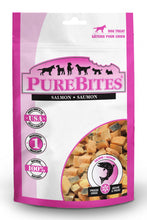 Load image into Gallery viewer, PureBites Salmon Freeze Dried Raw Dog Treats