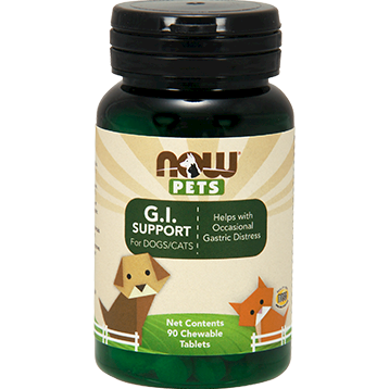 GI Support for Dogs & Cats 90 chewable tab