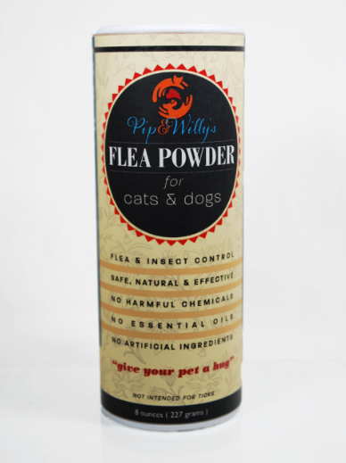 Pip & Willy's Flea Powder 8oz