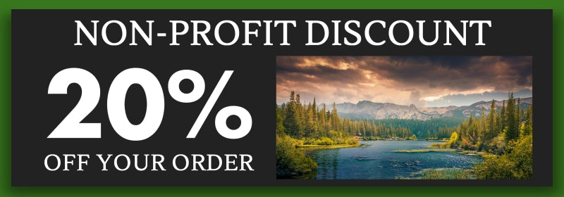 Non-Profit Discount - 20% Off Your Order