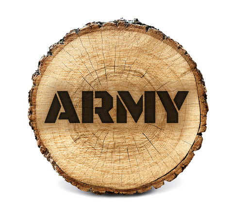 Wood BurnStencil™ - Army