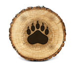 Wood Burning Stencil - Bear Paw