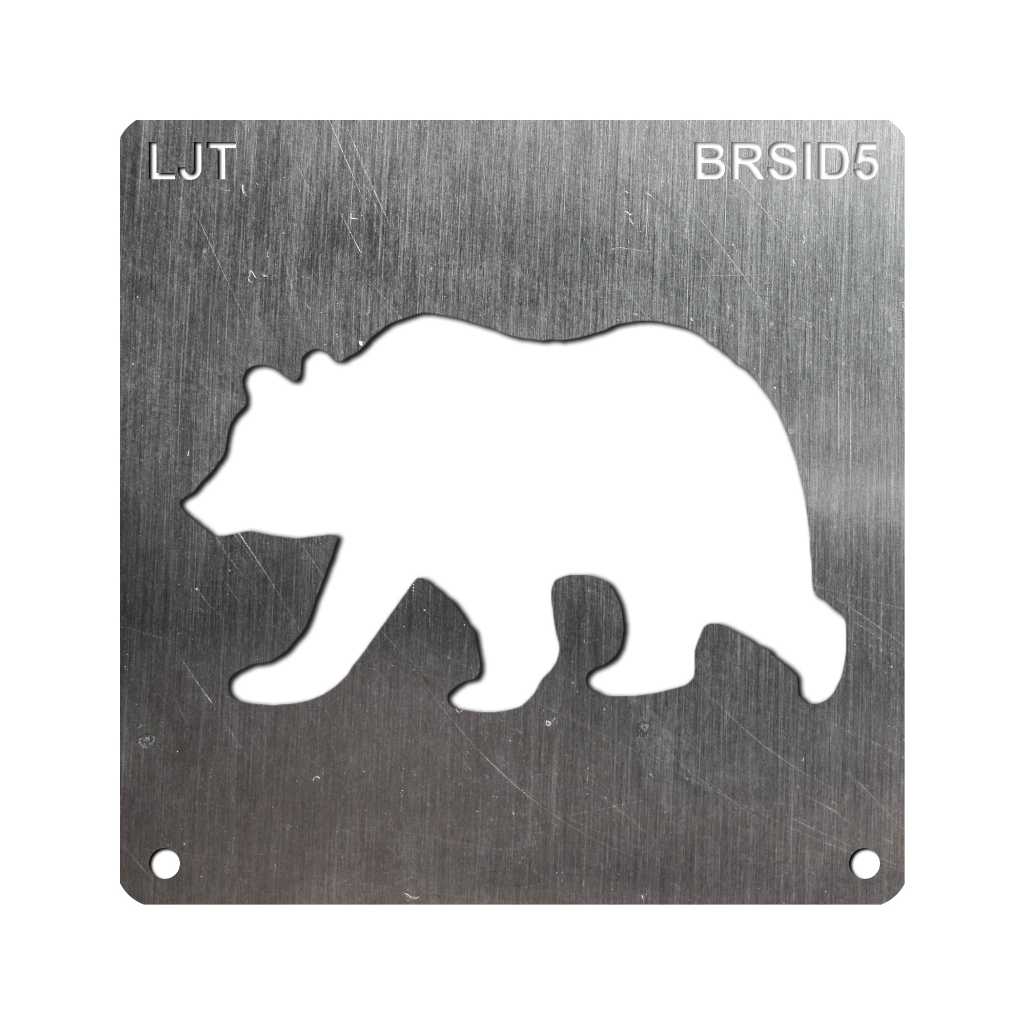 BurnStencil™ - Bear (Side Profile)
