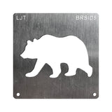 Wood Burning Stencil - Bear (Side Profile)