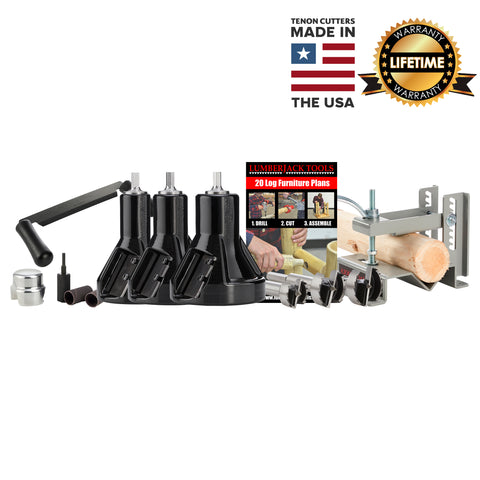 Commercial Series Master Case - USA Made Tenon Cutters and accessories