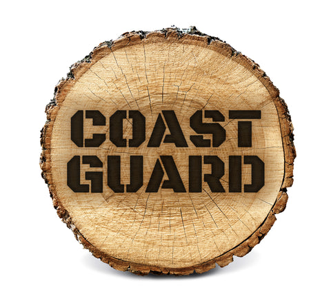 Wood BurnStencil™ - Coast Guard