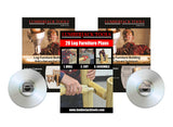 DVDs & Plan Booklet - learn how to build your own log furniture