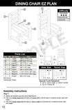 Log Furniture Blueprint Plan Booklet - Build log beds, chairs, benches and more