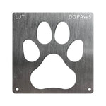 Wood Burning Stencil - Dog Paw