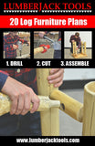 Log furniture blueprint plan booklet