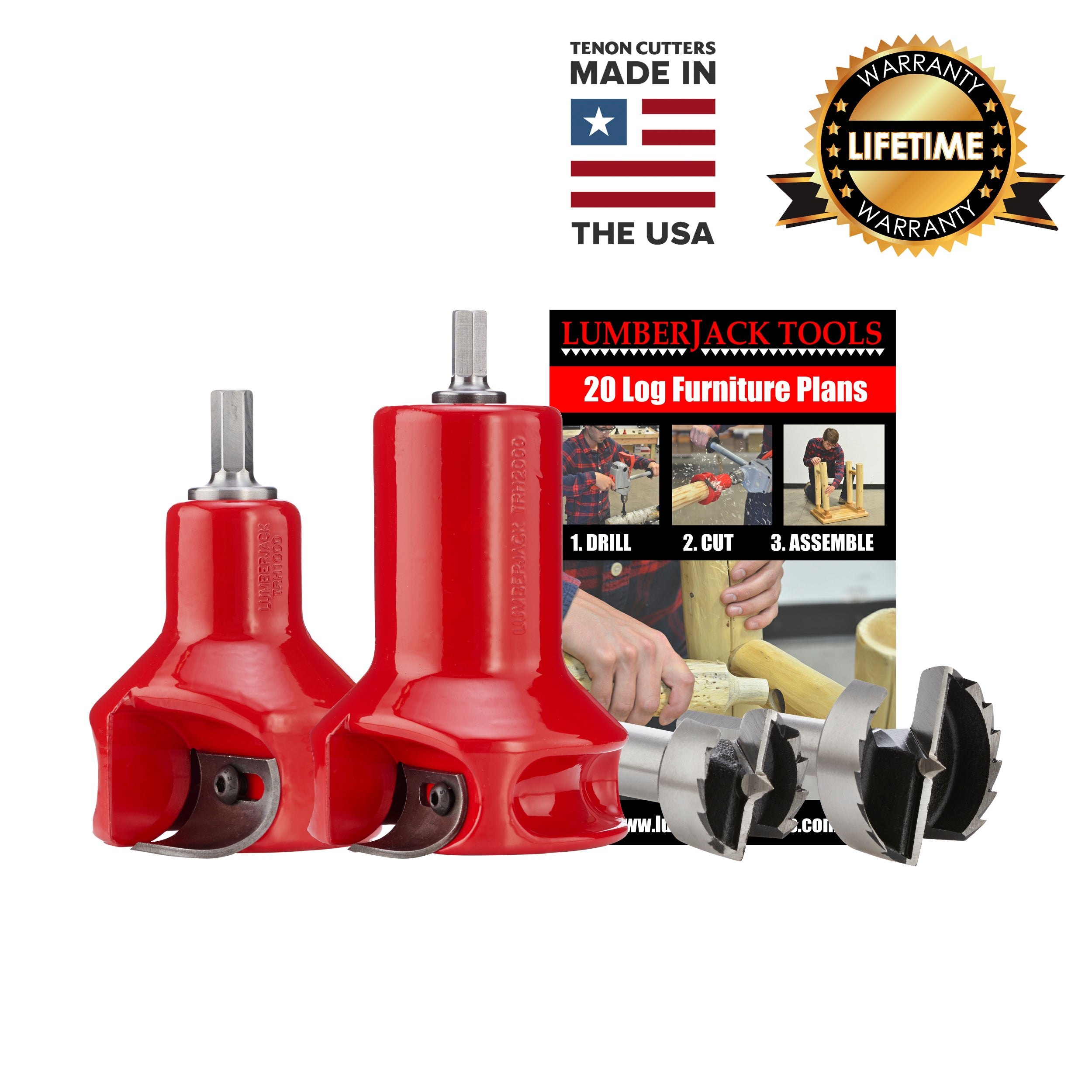Home Series Starter Kit - USA Made Tenon Cutters
