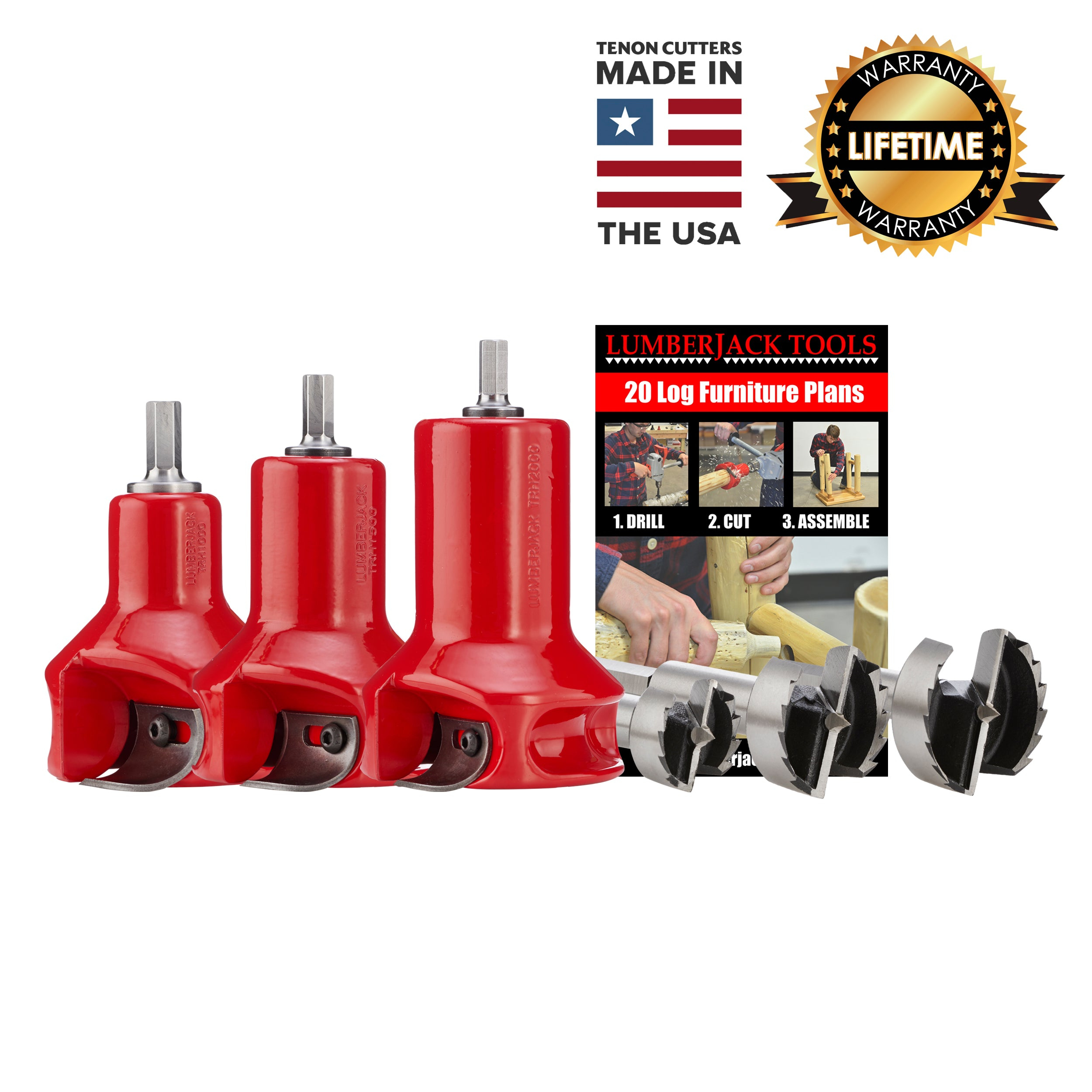 Home Series Master Kit - USA Made Tenon Cutters