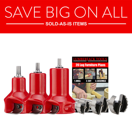 Sold as-is Home Series Master Kit - Tenon Cutters