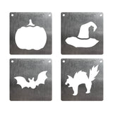 BurnStencil™ Mini Halloween Holiday 4 Pack