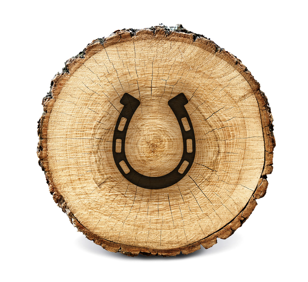 (PRE-ORDER) Wood Burning Stencil - Horse Shoe